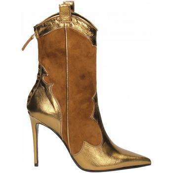 Čevlji  Ženske Gležnjarji Aldo Castagna BOHEMIA oro-tabacco