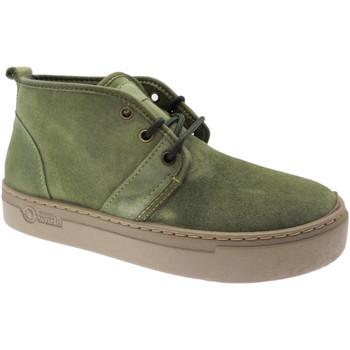 Čevlji  Ženske Visoke superge Natural World NAW6151922ka verde