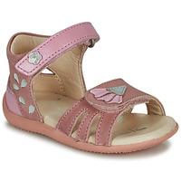 Čevlji  Deklice Sandali & Odprti čevlji Kickers BICHETTA Rožnata