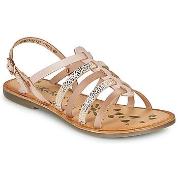 Čevlji  Deklice Sandali & Odprti čevlji Kickers DIXON Rožnata