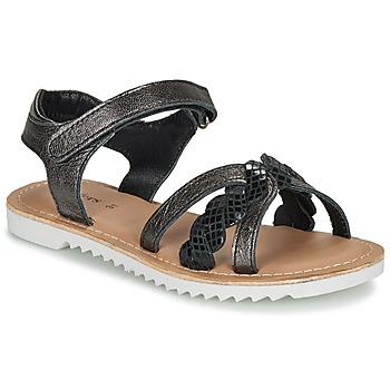 Čevlji  Deklice Sandali & Odprti čevlji Kickers SHARKKY Črna