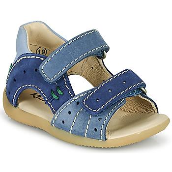 Čevlji  Dečki Sandali & Odprti čevlji Kickers BOPING-3 Modra