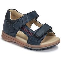 Čevlji  Dečki Sandali & Odprti čevlji Kickers PLAZABI Modra