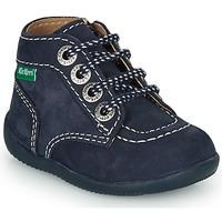 Čevlji  Otroci Polškornji Kickers BONZIP-3 Modra