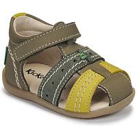 Čevlji  Otroci Sandali & Odprti čevlji Kickers BIGBAZAR-3 Zelena