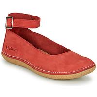 Čevlji  Ženske Balerinke Kickers HONNORA Rdeča