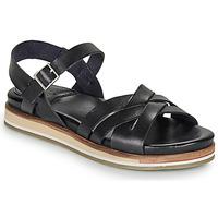 Čevlji  Ženske Sandali & Odprti čevlji Kickers OLIMPIK Črna