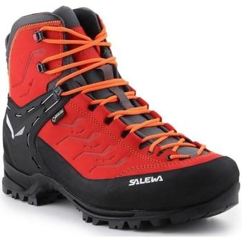 Čevlji  Moški Pohodništvo Salewa MS Rapace Gtx Črna,Rdeča