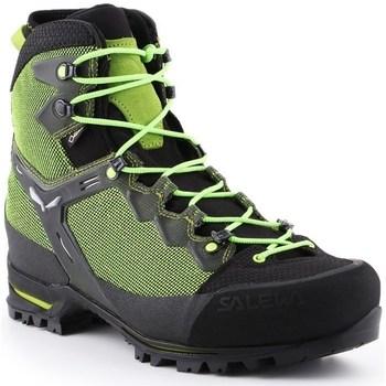 Čevlji  Moški Pohodništvo Salewa MS Raven 3 Gtx Črna,Zelena