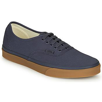 Čevlji  Moški Nizke superge Vans AUTHENTIC Modra