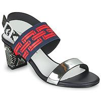 Čevlji  Ženske Sandali & Odprti čevlji United nude POP SANDAL MID Črna / Rdeča
