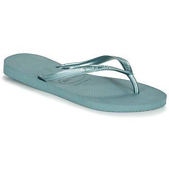 Čevlji  Ženske Japonke Havaianas SLIM Modra