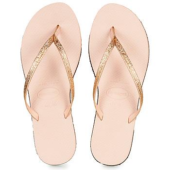 Čevlji  Ženske Japonke Havaianas YOU SHINE Rožnata