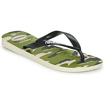 Čevlji  Moški Japonke Havaianas TOP CAMU Zelena