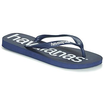 Čevlji  Moški Japonke Havaianas TOP LOGOMANIA Modrá