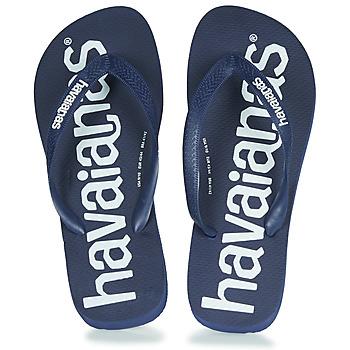 Čevlji  Japonke Havaianas TOP LOGOMANIA Modrá