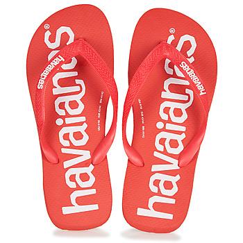 Čevlji  Moški Japonke Havaianas TOP LOGOMANIA Rdeča
