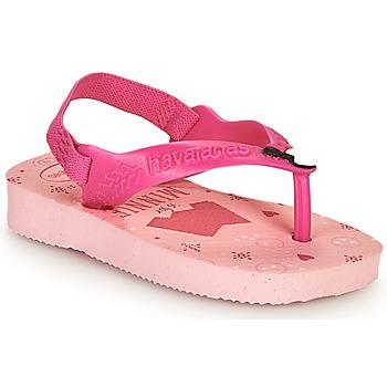Čevlji  Deklice Japonke Havaianas BABY DISNEY CLASSICS II Rožnata