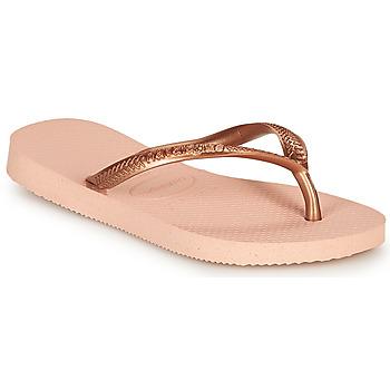 Čevlji  Deklice Japonke Havaianas SLIM Rožnata