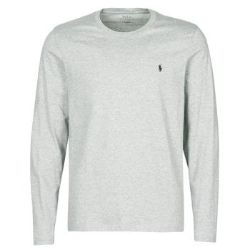 Oblačila Moški Majice s kratkimi rokavi Polo Ralph Lauren L/S CREW-CREW-SLEEP TOP Siva