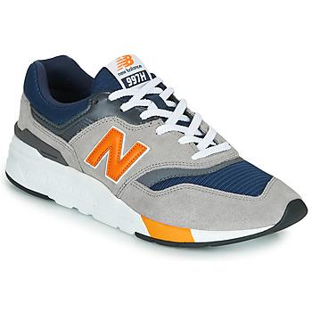 Čevlji  Nizke superge New Balance 997 Siva / Oranžna