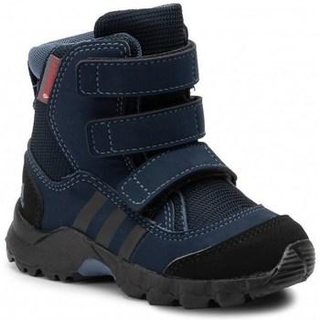 Čevlji  Otroci Škornji za sneg adidas Originals CW Holtanna Snow CF Črna, Mornarsko modra