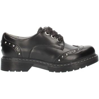 Čevlji  Deklice Čevlji Derby NeroGiardini A830711F Black