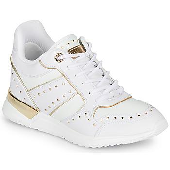 Čevlji  Ženske Nizke superge Guess FL5REJ-ELE12-WHITE Bela