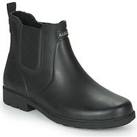 Čevlji  Moški škornji za dež  Aigle CARVILLE Črna