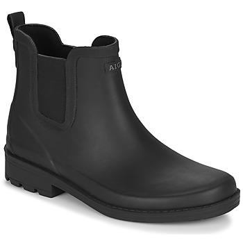 Čevlji  Ženske škornji za dež  Aigle CARVILLE Črna