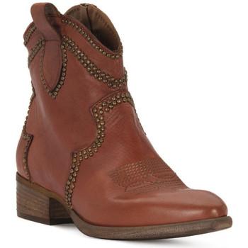Čevlji  Ženske Gležnjarji Priv Lab ROSSO BUFALO Rosso