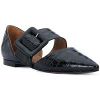 Čevlji  Ženske Balerinke Priv Lab COCCO NERO Nero