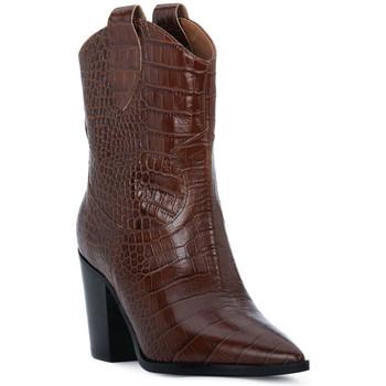 Čevlji  Ženske Gležnjarji Priv Lab CHOCO COCCO Marrone