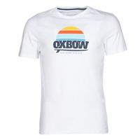 Oblačila Moški Majice s kratkimi rokavi Oxbow M1TEKSO Bela