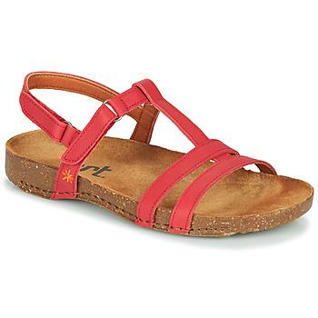 Čevlji  Ženske Sandali & Odprti čevlji Art I BREATHE Rdeča
