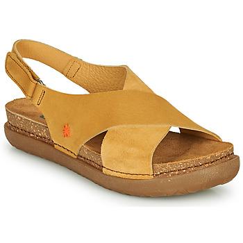 Čevlji  Ženske Sandali & Odprti čevlji Art RHODES Gorčica