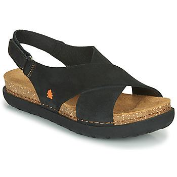 Čevlji  Ženske Sandali & Odprti čevlji Art RHODES Črna