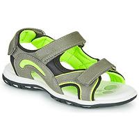 Čevlji  Dečki Športni sandali Chicco CEDDER Siva / Zelena