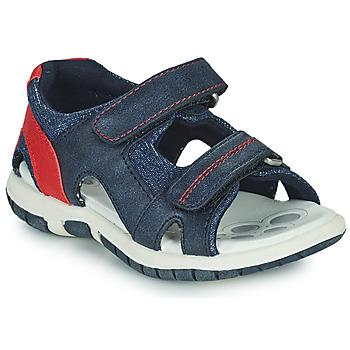 Čevlji  Dečki Športni sandali Chicco FLORIAN Rdeča
