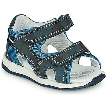 Čevlji  Dečki Športni sandali Chicco GEREMIA Modra
