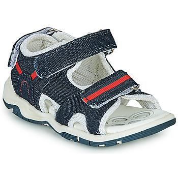 Čevlji  Dečki Športni sandali Chicco COLBY Modra / Rdeča