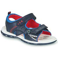 Čevlji  Dečki Športni sandali Chicco CAIL Modra