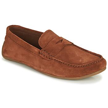 Čevlji  Moški Mokasini Clarks REAZOR PENNY Kamel