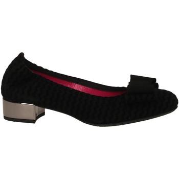 Čevlji  Ženske Balerinke Le Babe CAMOSCIO nero