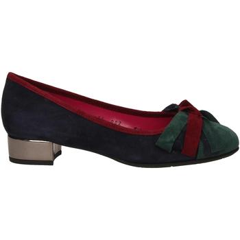 Čevlji  Ženske Salonarji Le Babe VELOUR blu