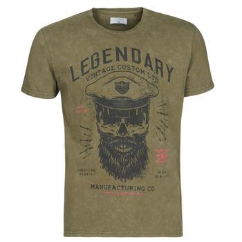 Oblačila Moški Majice s kratkimi rokavi Yurban MCOOL Kaki