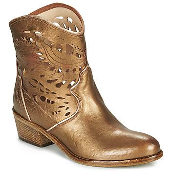 Čevlji  Ženske Gležnjarji Fru.it  Bronze