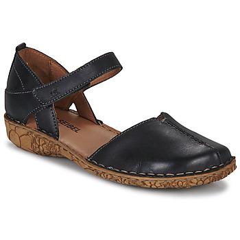 Čevlji  Ženske Sandali & Odprti čevlji Josef Seibel ROSALIE 42 Črna