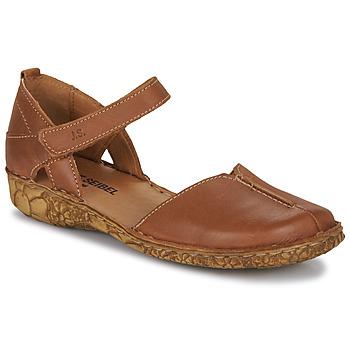 Čevlji  Ženske Sandali & Odprti čevlji Josef Seibel ROSALIE 42 Cognac