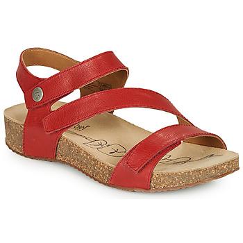 Čevlji  Ženske Sandali & Odprti čevlji Josef Seibel TONGA 25 Rdeča